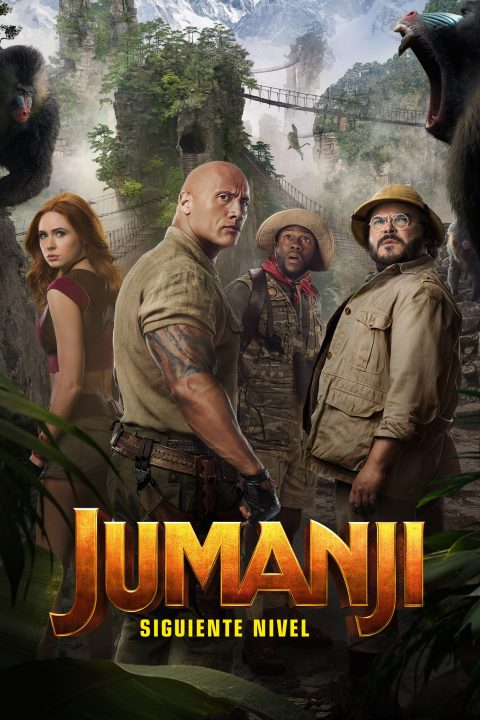 """Poster for the movie """"Jumanji: Siguiente nivel"""""""